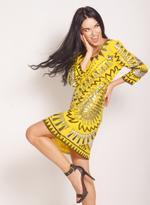 Fifth Season London Yellow Short Evening Dress (FS0001)