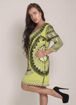 Fifth Season London Lime Green Short Evening Dress (FS0073)