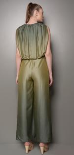 Mandira Wirk Green Ombre Jumpsuit (MW/SS-18/JS-003)