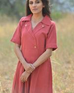 Sugandh Red Trumpet Dress (wos-625)