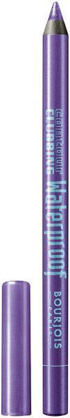 Bourjois Contour Clubbing Waterproof Pencil & Liner 47 Purple Night