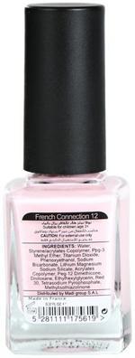 Nova Nails Water Based Nail Polish French Connection # 12 -10 ml