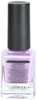Nova Nails Water Based Nail Polish Lavender Dreams # 30 -10 ml