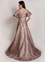 Si Fashion Galerie Pink Evening Gown (04006)