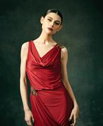 Mandira Wirk Cherry Dress (MWJD-004)