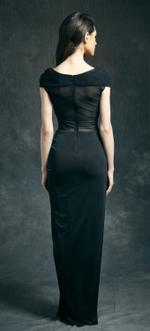 Mandira Wirk Black Gown (MWJD-010)