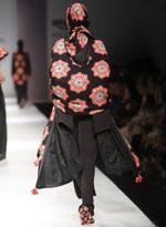 AL-Indian Luxury (Ashima Leena) Black & Red Jumpsuit with Shawl (AL-O17)