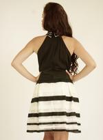 Fifth Season London Black & White Short Evening Dress (FS0010)