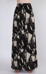 Masaba Neon & Black High-Low Top & Flared Pants Set by Vesimi (MAW19108)