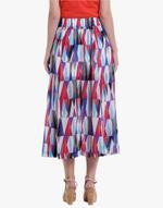 LoveGen Multicolored Printed Skirt (SM1)