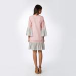 Pink Lemon Pink & White Striped Dress (SS18-01)