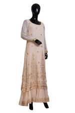 Shivani Tijori Off White Embellished Kurta, Sharara & Dupatta Set (ST 2405) by Zene
