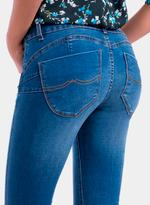 Tiffosi Blue Double Up Skinny Fit Jeans (TFS015)