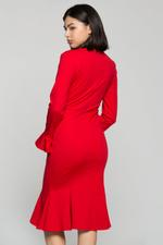 OwnTheLooks Red Mermaid Bodycon Dress (969B)