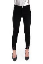 Miella Black Slim Lace Pants (PN194-BLK)