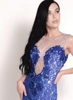 Fifth Season London Blue Evening Gown (13135)