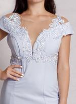 Fifth Season London Baby Blue Evening Gown (2117)