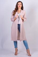 Miella Beige Sporty Longline Blazer (BL022-Beige)