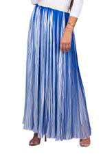Miella Blue Bella Neon Striped Skirt (SK009-Blue)