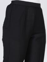 Abhishti Black Anarkali Kurta with Pants (ABI-ST210)