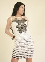 Fifth Season London White Short Evening Dress (FS0024)