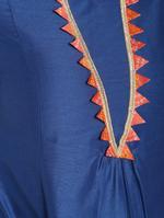 Abhishti Blue Flared Kurta (ABI-1436)