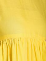 Abhishti Yellow Flared Kurta (ABI-1461)