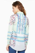 Miella Multicolored Floral Mirror Printed Shirt (SH714-MUL)