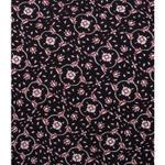 Cocktail House Black & Beige Off-Shoulder Top & Dhoti Skirt Set (CH0160Black)