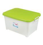 Storage Box With Wheels 15L - Green