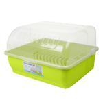 Green Dish Drainer - 44.5 Cm x 42.8 Cm x 29 Cm