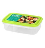 2 Compartment Food Keeper 800 ML - Green