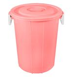 Bucket With Lid (60.5L) - Pink