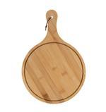 Fiesta Wooden Pizza Plate Round 24*26 cm