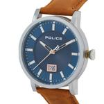Police Collin Brown Leather Analog Men Watch P 15404JS-03