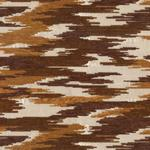 Brown Snail Jacquard Upholstery Fabric