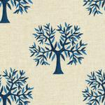 Tree Printed Blue Swatches