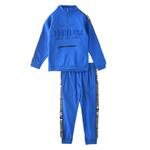Genius Boys Sweatshirt With Full Pant Set , Royal Blue - HDGLW20B2038