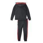 Genius Boys Hoodie With Full Pant Set , Black - HDGLW20B2030