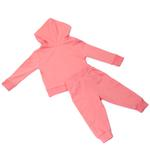 Smart Baby Baby Girls Hoodie With Full Pant Set , Pink - HDGLSS202185