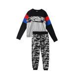 Genius Boys Sweatshirt With Full Pant Set , Multi - HDGLW20B2046
