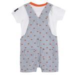 Lily & Jack Baby Boys 2 pcs set ,Grey/White,JCGS20R18328