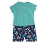 Lily & Jack Baby Boys 2 Pcs Set , Aqua/Navy , JCGS20R18598