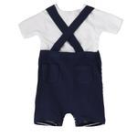 Lily & Jack Baby Boys 2 Pcs Set , White/Navy , JCGS20R18372