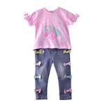 Lily & Jack Baby Girls 2 Pcs Set , Light Pink/Denim Blue , JCGS20R18228