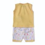 Smart Baby Baby Boys 2 Piece Set,Yellow-BIGCB215AIY