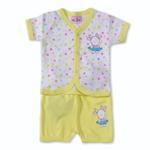 Smart Baby Baby Girls 2 Piece Set,Yellow-BIGCG115CHY