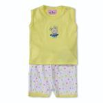 Smart Baby Baby Girls 2 Piece Set,Yellow-BIGCG115AIY