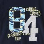 Genius Boys T-shirtss With Long Pant Set,Navy/Melange,SNGS2034770