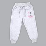 Disney Girls Sweatshirt With Full Pant Set , Pink/Light Grey - SIMGA20343011